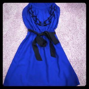 Express Beautiful Blue Dress